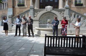 FOTO: sumperk.cz - slavnostní symbolické otevření schodiště