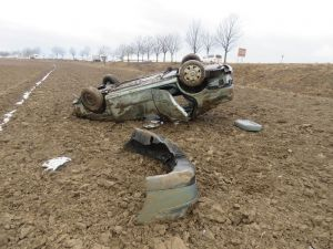 Foto z místa nehody