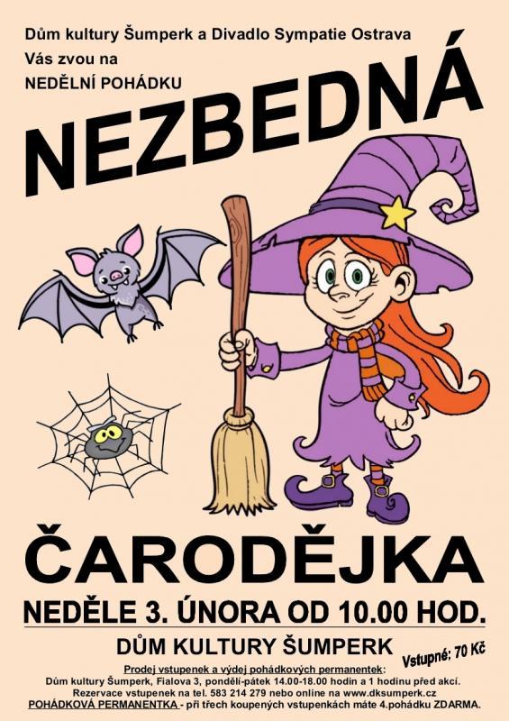 Nezbedná čarodějka