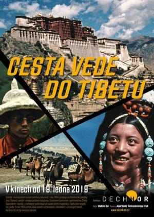 Cesta vede do Tibetu